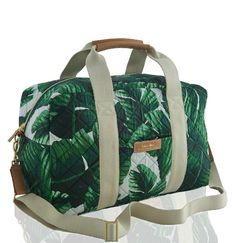 • Riviera Duffle Tote | India Hicks • Perfect for my daughter, a bride to be with a tropical wedding theme! www.indiahicks.com/rep/tracybrown