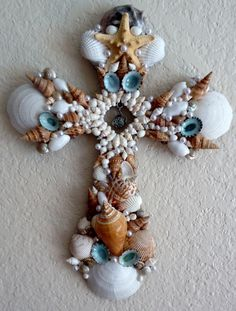 blue serenity cross ( sold)