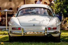 Mercedes Benz #300SL. Certain events on the classic calendar are well-known standouts — examples of elegance and pristine automotive polish unlike any other. Classic Days Schloss Dyck is one of the very finest. (MB Museum). Photos courtesy: fünfkommasechs