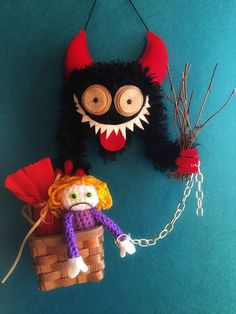 KRAMPUS ORNAMENT classic
