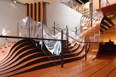 Ideias de escadas (Foto: Heatherwick Studio / Divulgação)