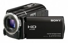 """Sony HDR-XR160 High-Definition Handycam Camcorder (Black) by Sony. $597.99. From the Manufacturer                Take stunning 1920 x 1080 Full HD video with the compact HDR-XR160 Handycam camcorder. It features an """"Exmor R"""" CMOS sensor for superior low-light performance, a 160GB1 hard disk drive, wide angle Sony G lens, plus 42X extended zoom for getting you closer to the action.1920x1080 Full HD 60p Recording w/3MP still image1920 x 1080 high definition resolution l..."""