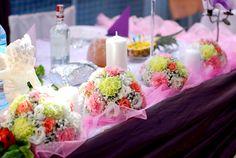 Dekoracja sali - Kwiaciarnia De Florist