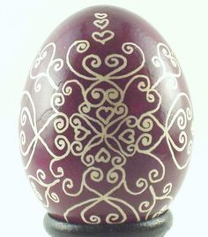 Pysanka.... Ukrainian Easter Egg Decorating =) Actually learned how to make one this year =)