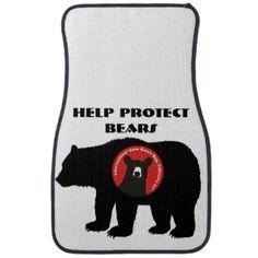help protect bears floor mat