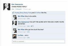 #EXO #Facebook