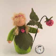 Himbeere Blumenkinderwerkstatt - Blumenkinder für den Jahreszeitentisch