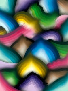 """Luminous Vapors"" See more work by Ricky Watts by subscribing on Ziibra at http://www.ziibra.com/ricky-watts/"