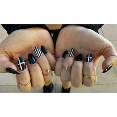 Black Friday nails from @UOPhoenixAZ