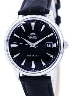 release date b061f 91ff0 Orient Bambino Generation 2 Version 1 Black Face and Silver ...