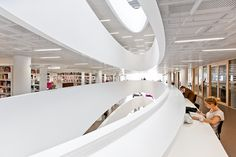 Helsinki University City Centre Campus Library in Finland by AOA architects