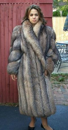 silver fox fur coat | Furs & Softwear 41 | Pinterest | Coats ...