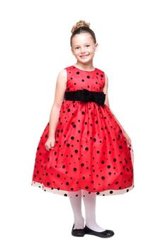 Little Snow Angel Holiday Dress for Babies and Girls Dress Color: Red Fancy - Click image twice for more info - See a larger selection girls red dress at http://girlsdressgallery.com/product-category/girls-red-dress/ - girls, little girls, kids, kids fashion, girls fashion, girls dress, casual dress, everyday dresses, gift ideas