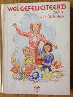 Versjesboek voor schoolkinderen voor nieuwjaar en verjaardag.
