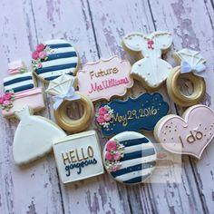 Bridal shower cookies, wedding favour, Gastgeschenke, Kekse
