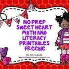 Valentine math & literacy printables (free!!)