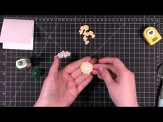 Punched Hearts Flower Tutorial by Kristina Werner