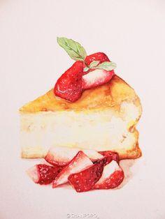 angel food cake strawberry cake
