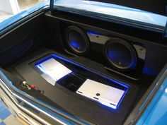1967 chevelle  #BecauseSS trunk car stereo install jl audio subwoofers and amps