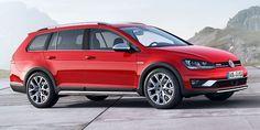 Парижский автосалон 2014: Volkswagen Golf будет покорять бездорожье!