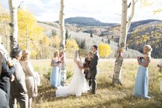 www.CustomWeddingsofColorado.com small, intimate wedding in Beaver Creek, CO.  Photo by Jeanine Thurston.  Flowers by Pink Posey Design.
