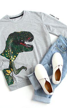 Dinosaur Print Loose