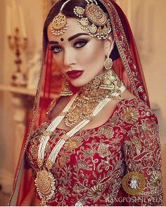 "1,469 Likes, 10 Comments - The Pakistani Bride (@thepakistanibride) on Instagram: ""VA VA VROOM! #AmyJackson is on fiyaaah in those gorgeous @rangposh jewels! ❤ outfit by @bibildn…"""