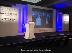 Resultado de imagen para conference set design