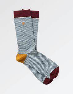 One Pack Harrison Stripe Socks