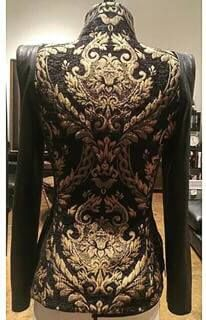 New Jacket by ASM featured Fashion Designer & Advertiser Laurence Basse @laurencebasse of GUINEA BISSAU & FRANCE...Fierce!! #fashion #design #designer #artistic #vogue #travel #fashionblogger #artwork #photoshoot #gold #black #fashionista #colorful #pretty #blogger #stylish #style #blackandwhite #beautybloggers #photooftheday #thinkoutsidethebox WWW.AFROSTYLEMAG.COM