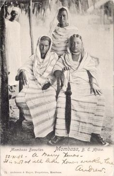1903 Mombasa, four years before slavery was abolished.