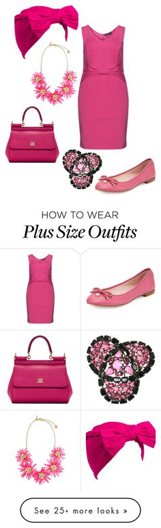 """""""'60's mod"""" by aleger-1 on Polyvore featuring Manon Baptiste, Kate Spade, Dolce&Gabbana and Beauxoxo"""