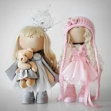 Resultado de imagen de muñeca rusa de trapo vestida de novia