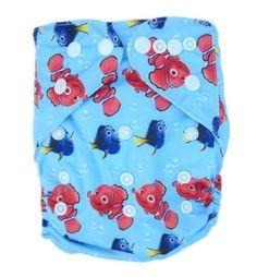 Nemo Birth to Potty Pocket Nappy