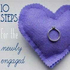 10 Steps for the Newly Engaged, engagement, wedding, getting married, ideas Plan My Wedding, Wedding Advice, Wedding Planning Tips, Wedding Thank You, Wedding Planner, Our Wedding, Dream Wedding, Wedding Blog, Wedding Stuff