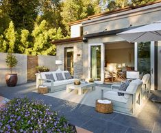 Atherton Contemporary Luxury Interior Design | Mark Cutler Design Contemporary Interior Design, Luxury Interior Design, Outdoor Spaces, Outdoor Decor, The Great Outdoors, Exterior, Patio, Building, Modern