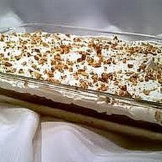 Make and share this Mississippi Mud Pie recipe from Genius Kitchen. Pie Recipes, Dessert Recipes, Cooking Recipes, Dessert Ideas, Pudding Desserts, Pie Dessert, What's Cooking, Pastries Recipes, Sweets Recipe