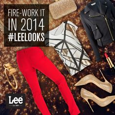 Celebrate 2014 with a bold, brightly-colored bang. Colored Bangs, Jeans 2014, Lee Jeans, Perfect Fit, Design Ideas, Skinny Jeans, Celebrities, Boots, Fitness