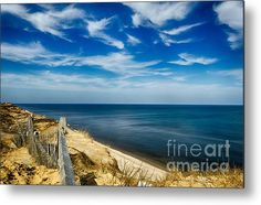Overlook To The Atlantic Metal Print By Barbara Hayton