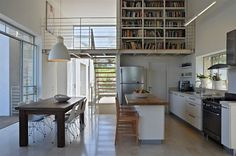 מטבח קטן בחלל פתוח / רגבה - אורלי רובינזון, האתר הישראלי לעיצוב