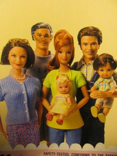 Happy Family Style Portrait - I would love to style Midge's hair this way!  What a cute updo!