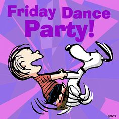 Friday dance party! #TGIF