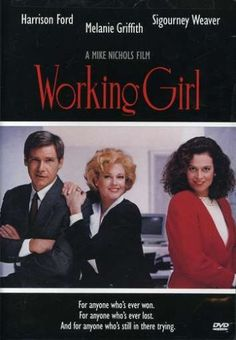 """Working Girl, 1989 Academy Awards (Oscars) Best Music (Song) winner, """"Let the River Run"""", Music and Lyric by Carly Simon #Oscars #AcademyAwards  #GoodMovies #Movies"""