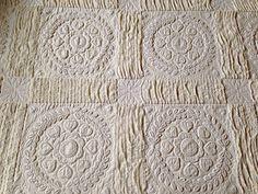 Vintage Candlewick Quilt