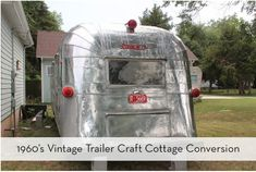Boomeon | Vintage Trailer Converted to a Craft Studio