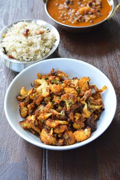 Roasted Curried Cauliflower from Yes, I am Vegan