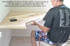 DIY Corner desk - Will be making a desk similar to this plan over the next few weekends. Description from pinterest.com. I searched for this on bing.com/images