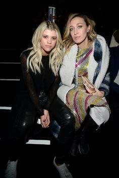 Pin for Later: These Stars Didn't Play Around When It Came to Their Fashion Week Outfits Sofia Richie and Alana Hadid At Rihanna's Fenty x Puma. Sofia Richie, Fashion Week, Fashion Show, Alana Hadid, Rihanna Fenty, Ice Queen, New York, Naomi Campbell, Celebs