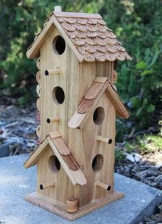 Gardening outdoors decor on pinterest wind chimes Wine cork birdhouse instructions