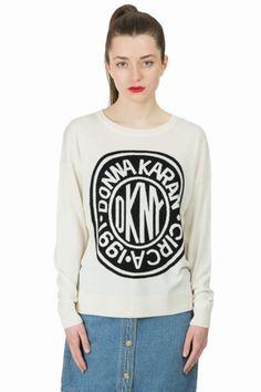 DKNY x Opening Ceremony round logo sweater